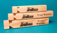 Set of Three Train Whistles