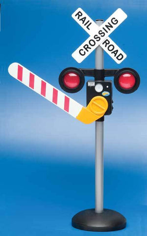 Motion Activated Talking Railroad Crossing