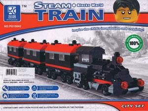 Steam Train Blocks World