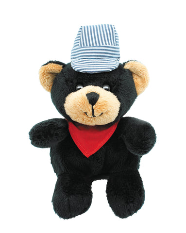 Black Bear Plush Animal Engineer