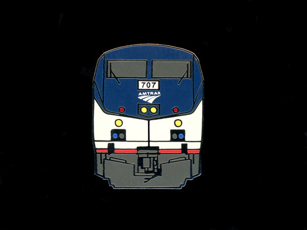 Amtrak Genesis Railroad Pin