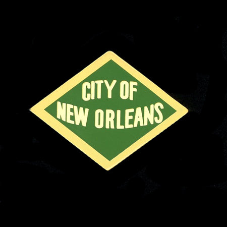 City of New Orleans Railroad Pin
