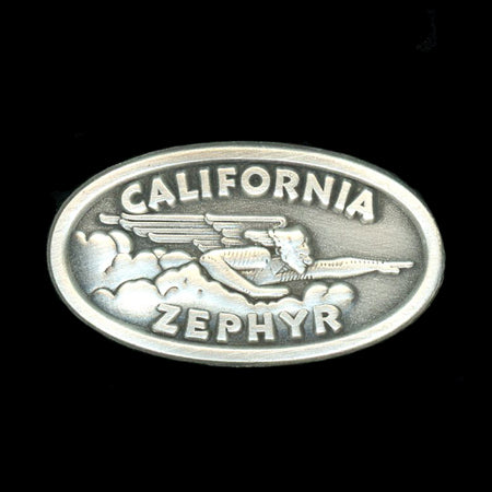 California Zephyr Railroad Pin
