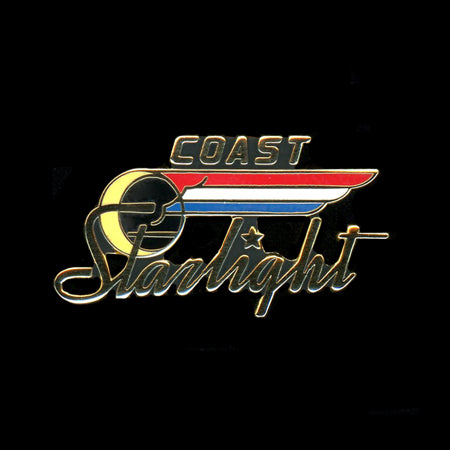 Coast Starlight Railroad Pin