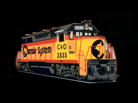Chessie System GP35 Locomotive Pin