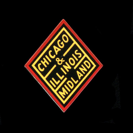 Chicago & Illinois Midland Railroad Pin