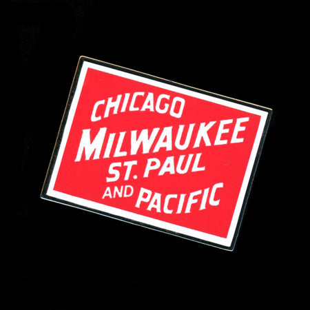 Chicago Milwaukee & St Paul Railroad Pin