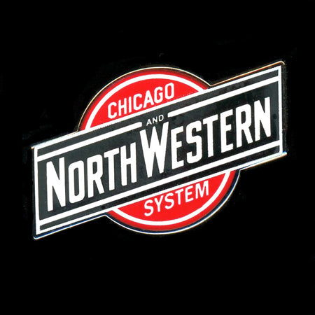 Chicago & NorthWestern Railroad Pin