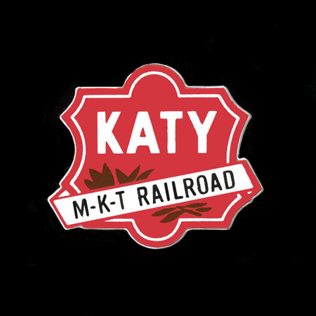 Katy Railroad Pin
