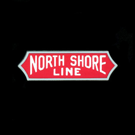 North Shore Line Railroad Pin