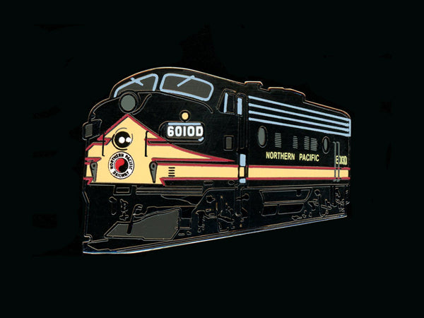 Northern Pacific F7 Locomotive Pin