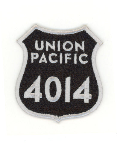 UP 4014 Big Boy Number Plate Patch