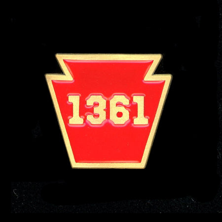Pennsylvania 1361 Engine Railroad Pin