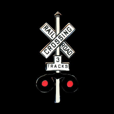 Railroad Crossing Signal Pin
