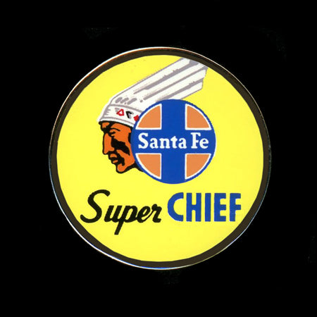 Super Chief Railroad Pin