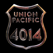 Union Pacific Big Boy 4014 Number Plate Belt Buckle