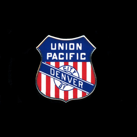 UP Denver Railroad Pin