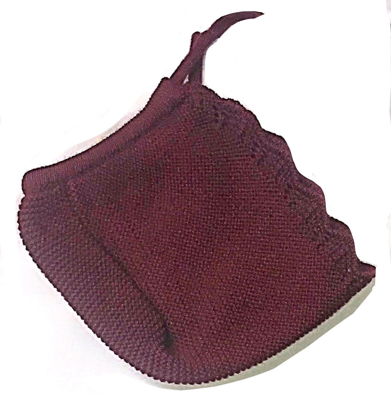 Knitted 3 piece jam pants set Burgundy - Roo's Online Shop - children's clothes - Mary Jane shoes -