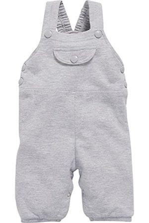 Unisex dungarees grey marl - Roo's Online Shop - children's clothes - Mary Jane shoes -