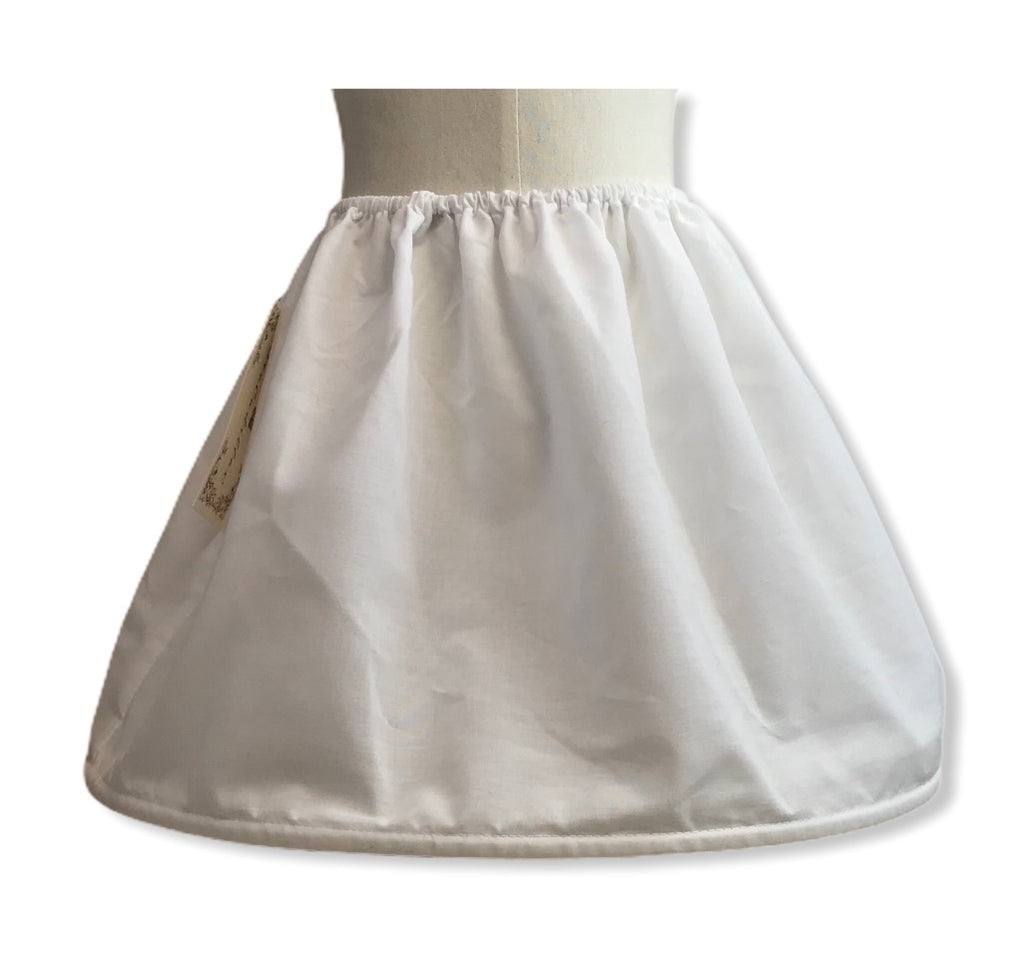 Petiskirt hooped underskirt - Roo's Online Shop - children's clothes - Mary Jane shoes -