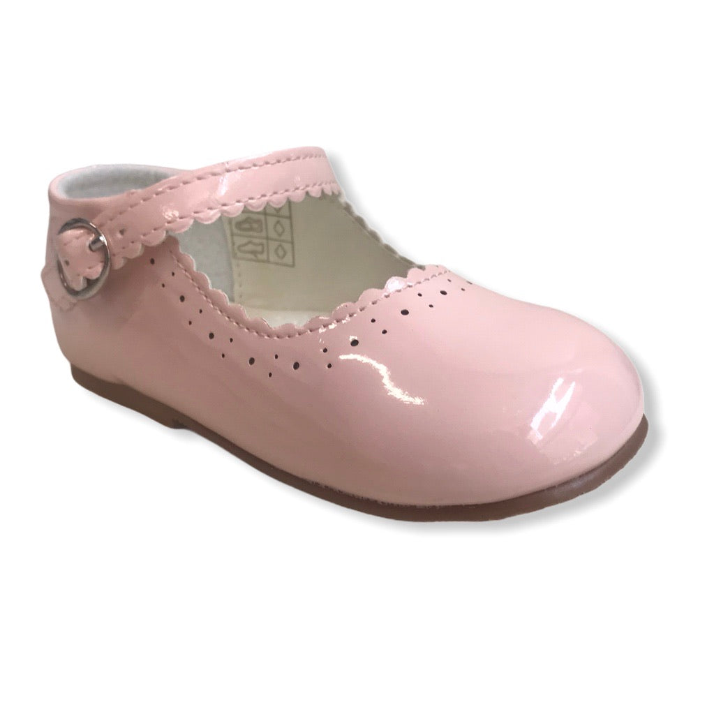 NEW STYLE Infant Mary Jane shoes in Pink - Roo's Online Shop - children's clothes - Mary Jane shoes -