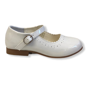 NEW STYLE Junior Mary Jane Shoes in Cream - Roo's Online Shop - children's clothes - Mary Jane shoes -