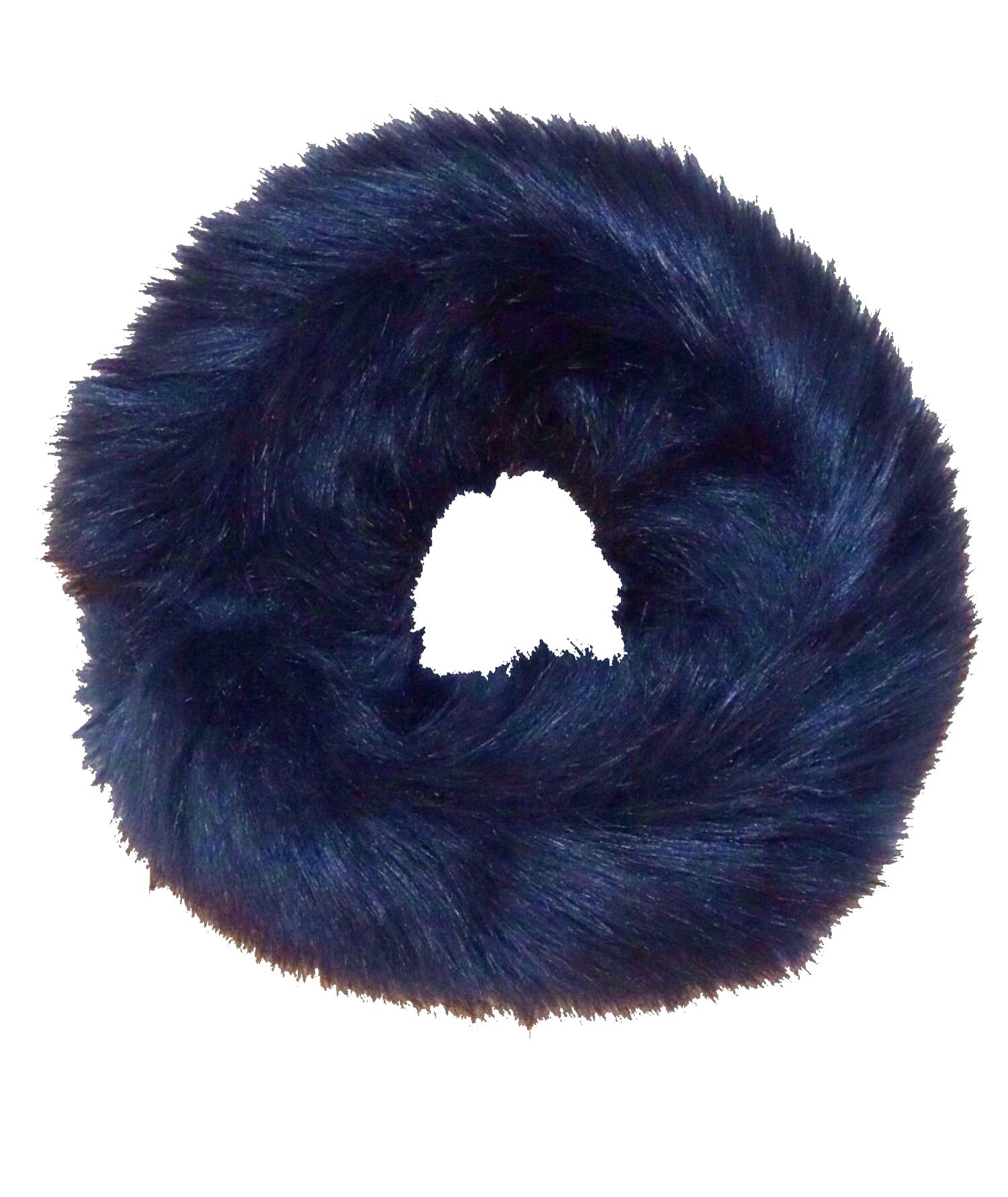 Luxury Faux Fur Headband in Black - Roo's Online Shop - children's clothes - Mary Jane shoes -