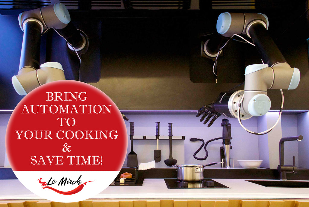 Bring Automation to Your Cooking and Save Time!