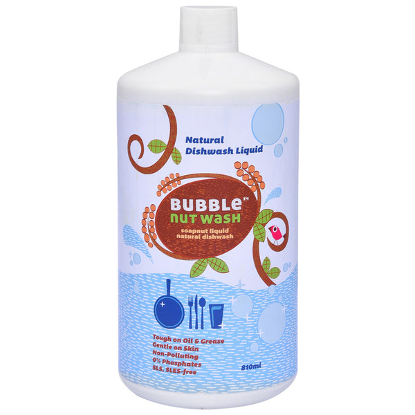 Bubble Nut Wash Natural Dishwash Liquid