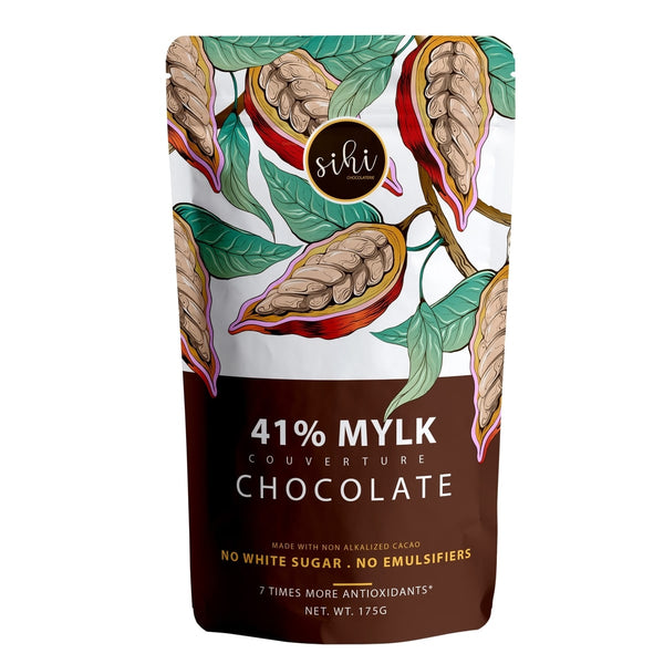 41% Mylk Couverture Chocolate (Vegan)