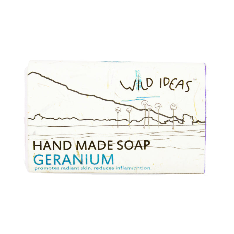 Wild Ideas Hand Made Soap - Geranium