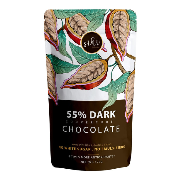 55% Dark Couverture Chocolate (Vegan)