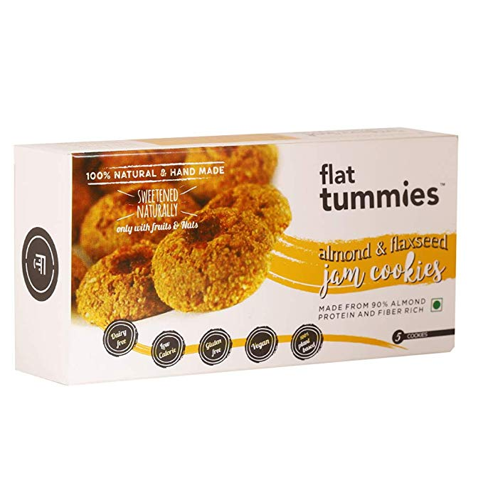 Flat Tummies Almond Cookies