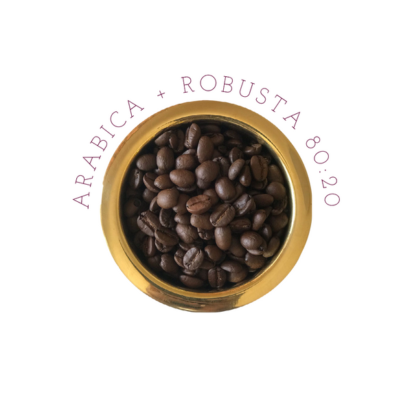 Pure Coffee Blends - 80% Arabica + 20% Robusta