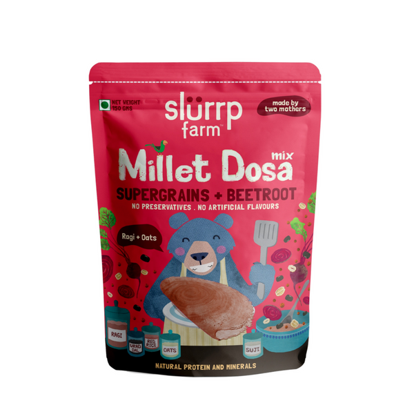 Slurrp Farm Beetroot dosa mix