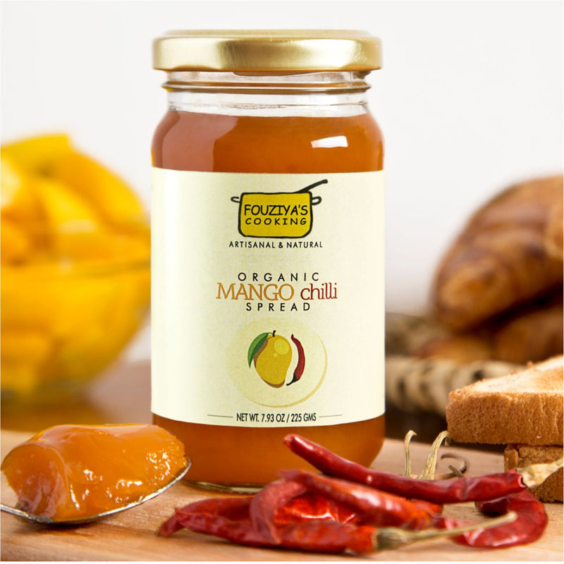 Hot Mango Spread