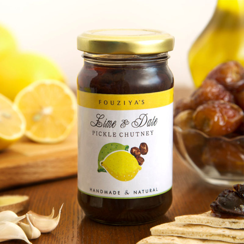 Lime & Date Pickle Chutney
