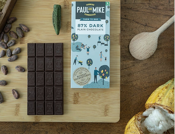 87% Dark Plain Chocolate