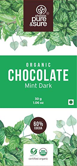 Organic Dark Chocolate with Mint