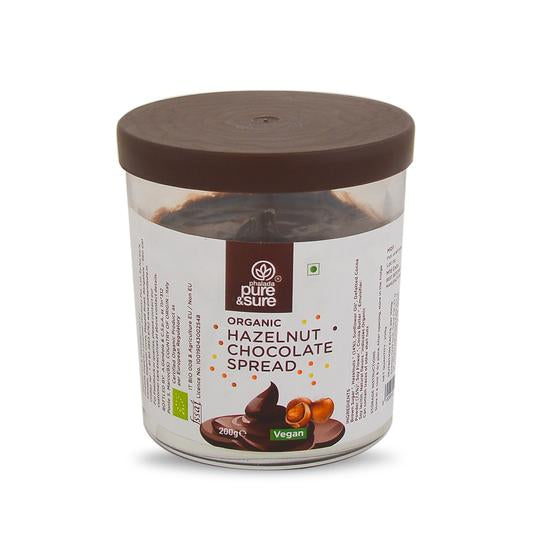 Organic Hazelnut Chocolate Spread