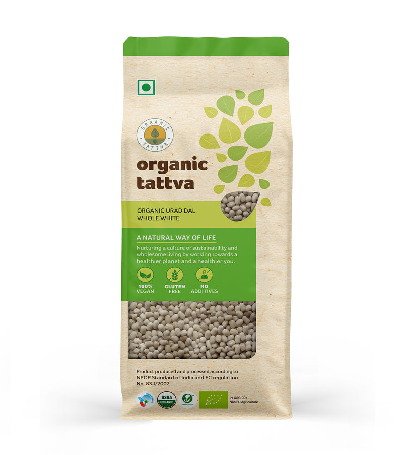 Organic Urad Dal Whole White