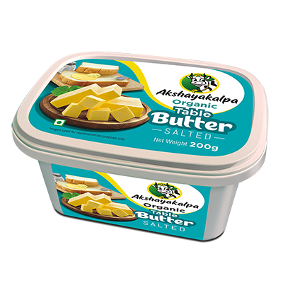 Akshayakalpa Organic Table Salted Butter