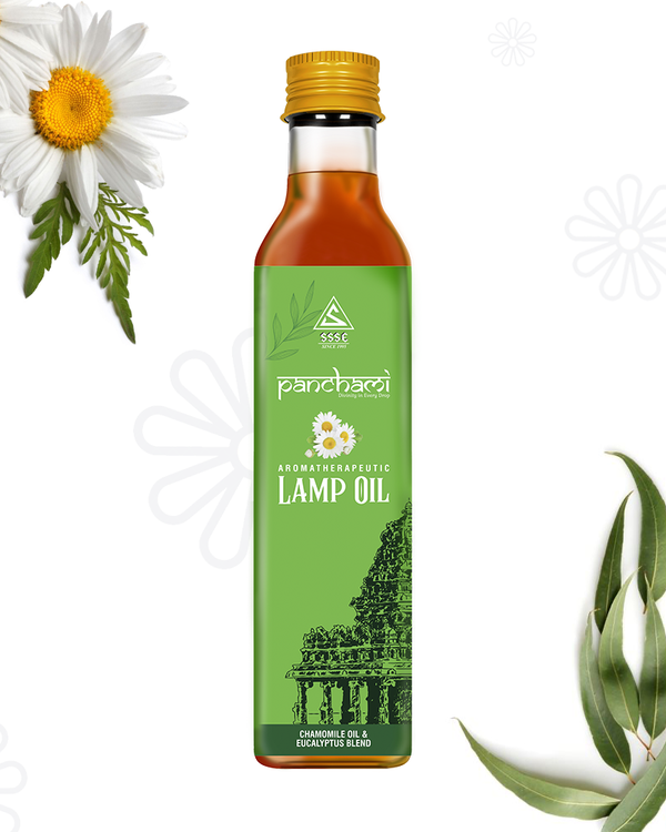Aromotherapeutic Lamp Oil - Chamomile & Eucalyptus Blend