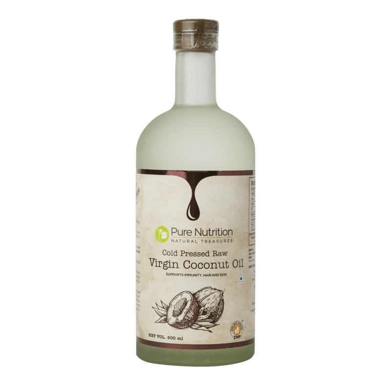 Raw Coconut Oil Cold Pressed Extra Virgin