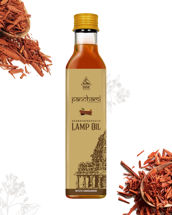 Aromotherapeutic Lamp Oil - Mystic Sandalwood