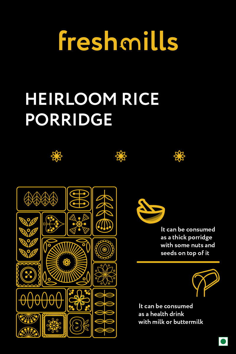 Freshmills Heirloom Rice Porridge