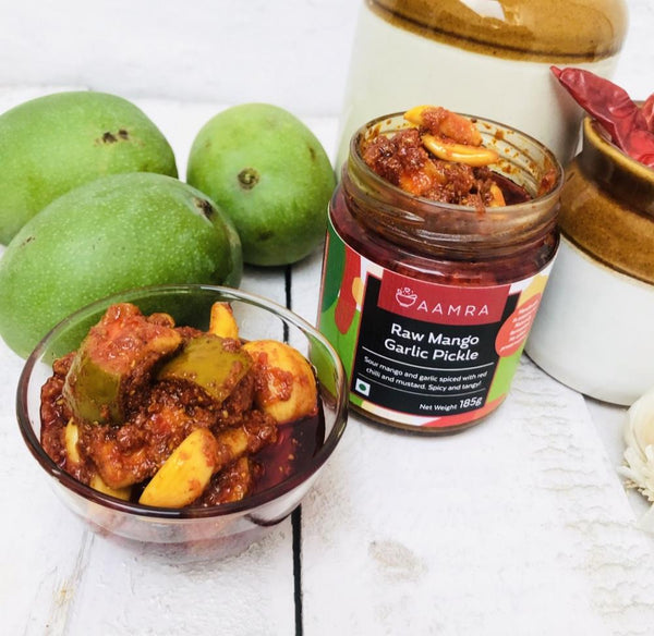 Raw Mango & Garlic Pickle