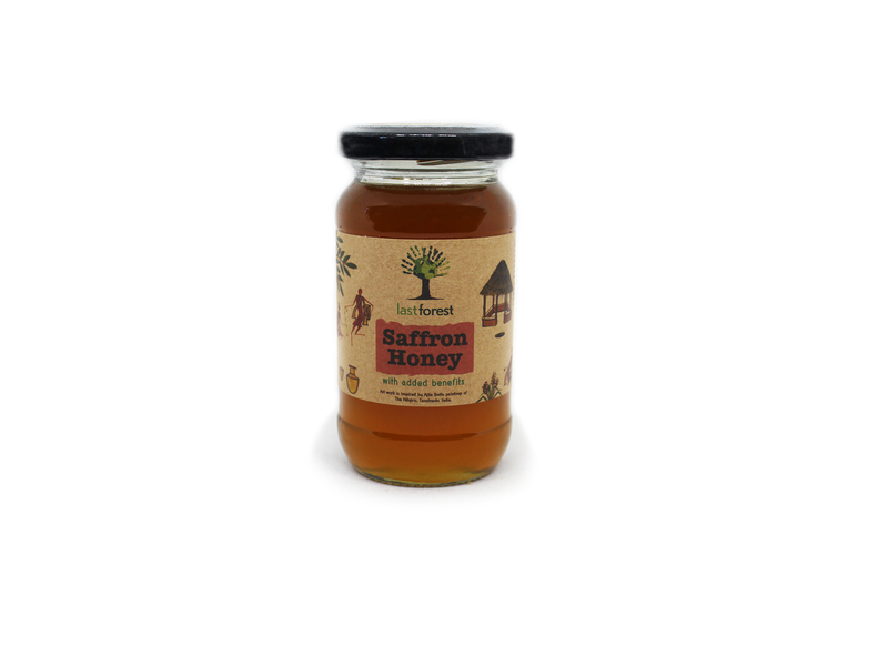 Last Forest Saffron Honey