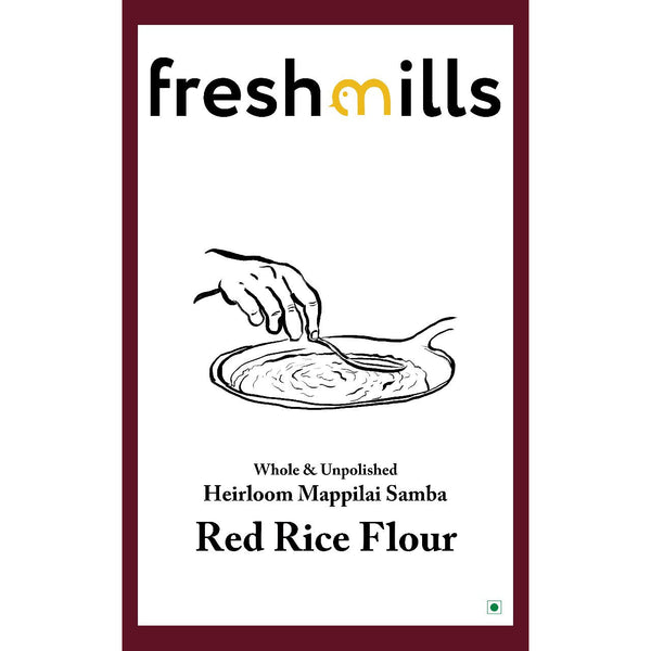 Freshmills Red Rice (Mappilai Samba) Flour