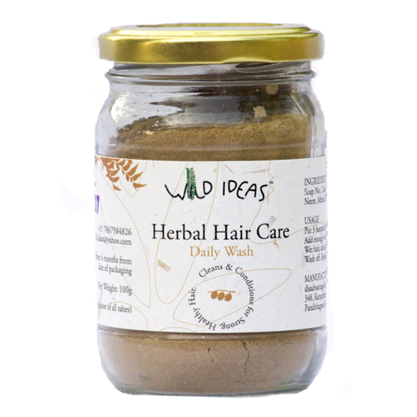 Wild Ideas Herbal Hair Daily Wash